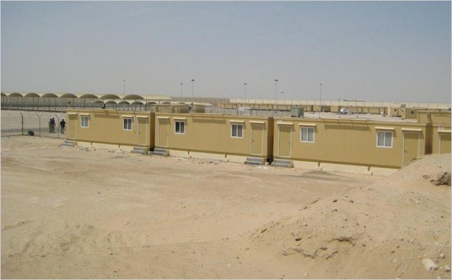 UAE training camp where foreign troops are stationed, courtesy of New York Times